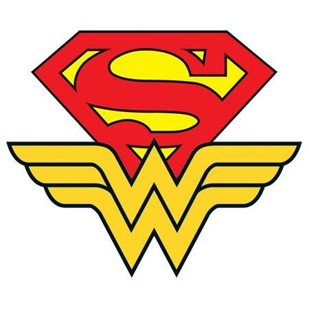 Superman Wonder Woman Logo Logo De La Mujer Maravilla Superman Y Mujer Maravilla Mujer Maravilla