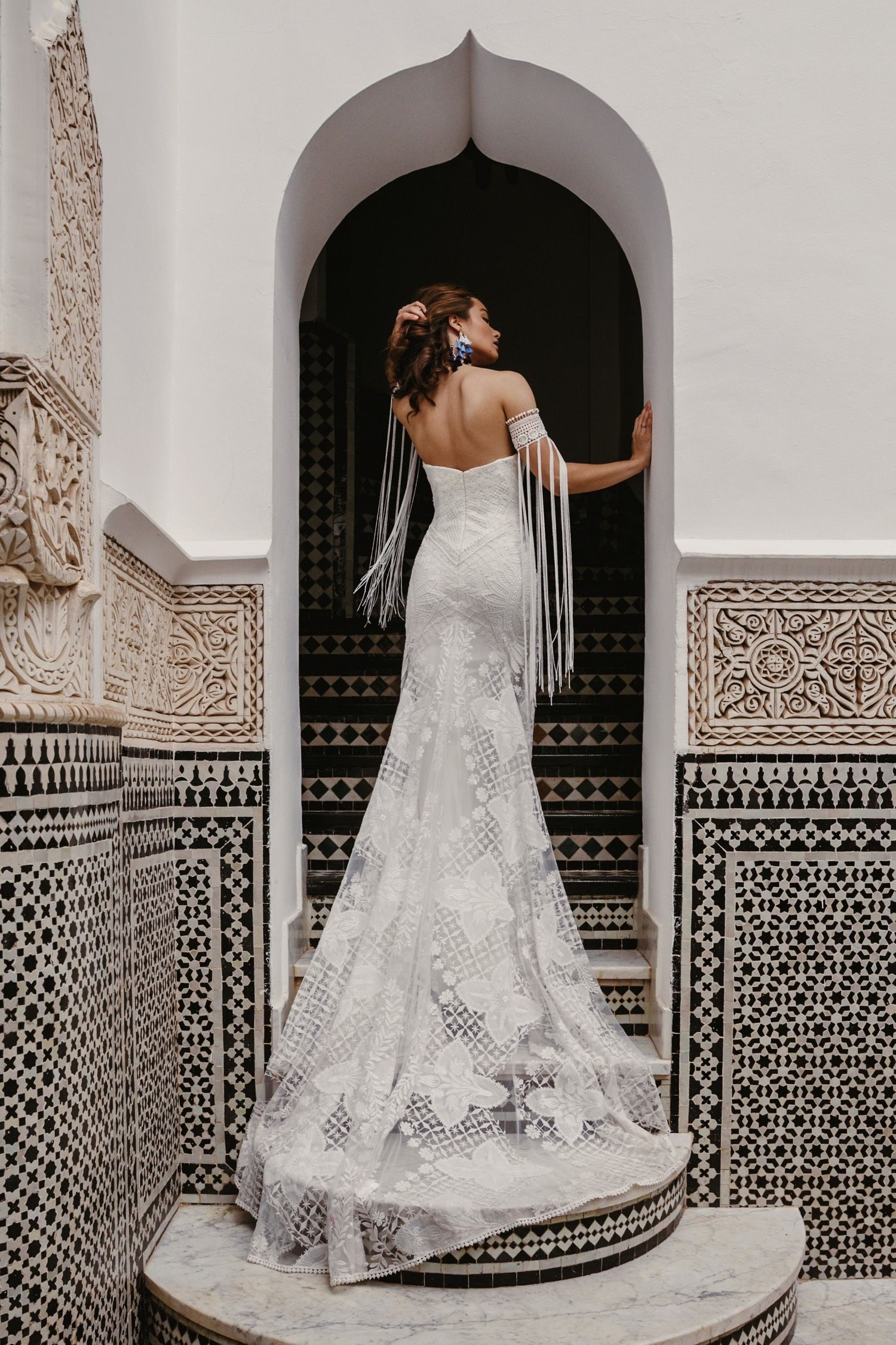 The bohemian bridal fashion you have been waiting for all this time