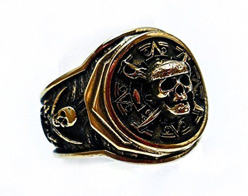 courir chaussures choisissez le dégagement meilleur grossiste Pirate of the Caribbean Skull Ring - Pirate Ring - Skull ...