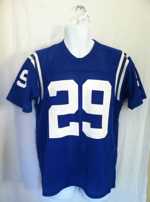 9ad690ed3 Vintage COLTS Jersey  80s Original ERIC by sweetVTGtshirt on Etsy ...