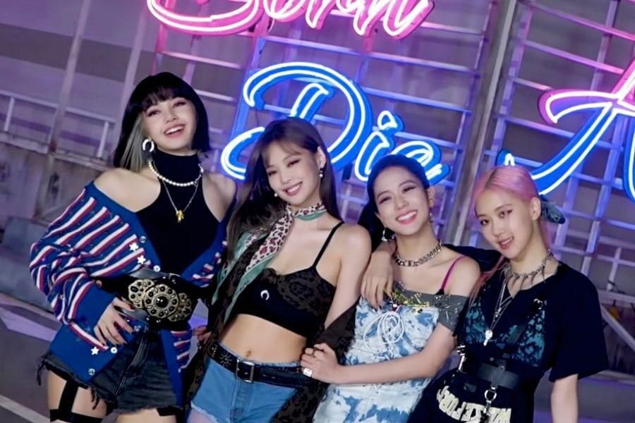 """Watch: BLACKPINK Shows Off Acting Skills And Has A Blast While Filming """"Lovesick Girls"""" MV 