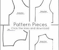 Descaga patrones para hacer un vestido de niña