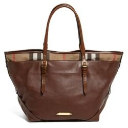 892b0607258f Burberry  Medium Salisbury  Leather Tote Dark Ochre - product - Product  Review