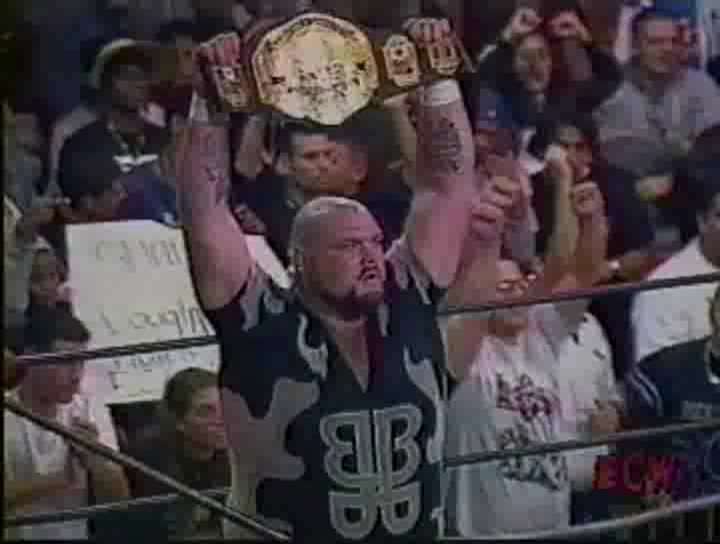 Image result for bam bam bigelow ecw championship