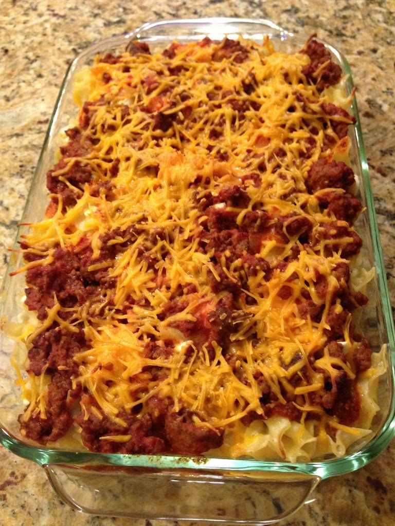 Sour Cream Noodle Bake #sourcreamnoodlebake