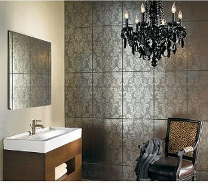 Damask Imperial Tile Tile Bathroom Wall Tiles