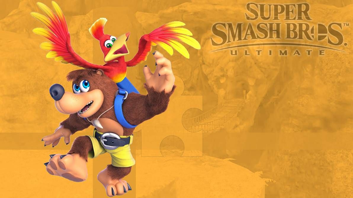 Super Smash Bros Ultimate Banjo Kazooie Wallpaper By Https Www Deviantart Com Leadingdemon0 On Devianta Smash Bros Banjo Kazooie Super Smash Bros Characters