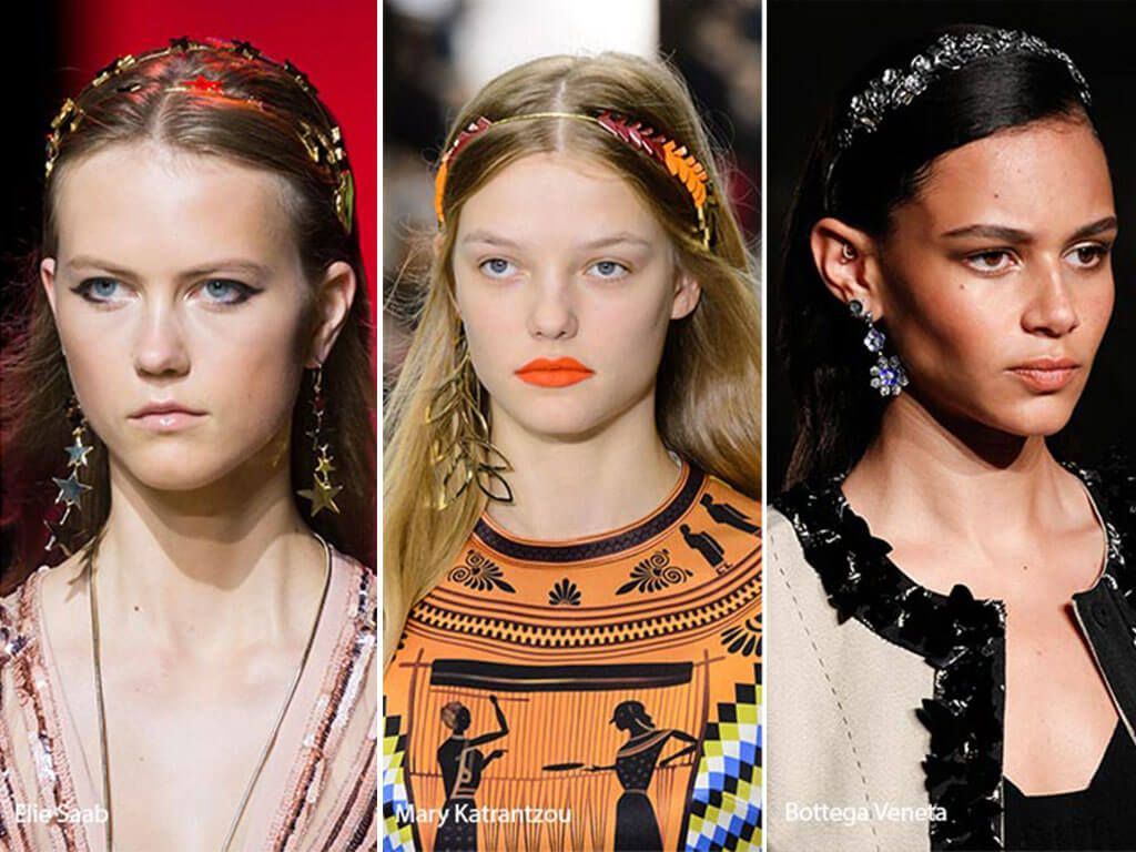 Fashion week Summer spring hair accessory trends for lady