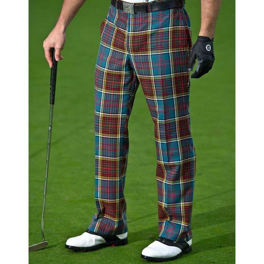Slanj Anderson Tartan Golf Trousers - Made to Measure