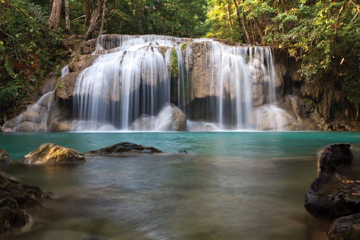Tee Lor Su Waterfall Tak Thailand