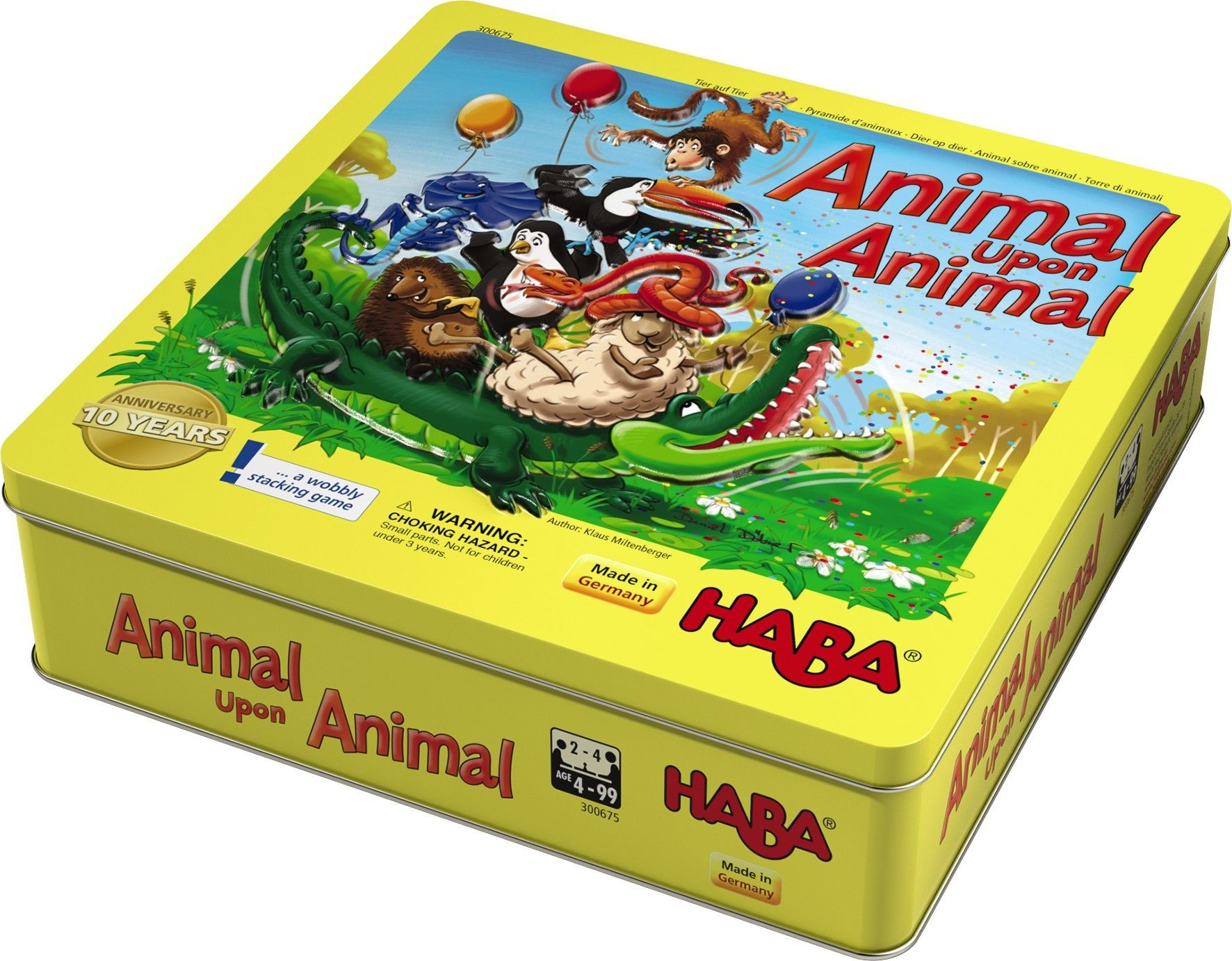 Animal Upon Animal 10th Anniversary Tin Edition   HABA USA