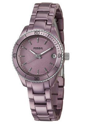 purple ladies Fossil Watch ! ! ! !