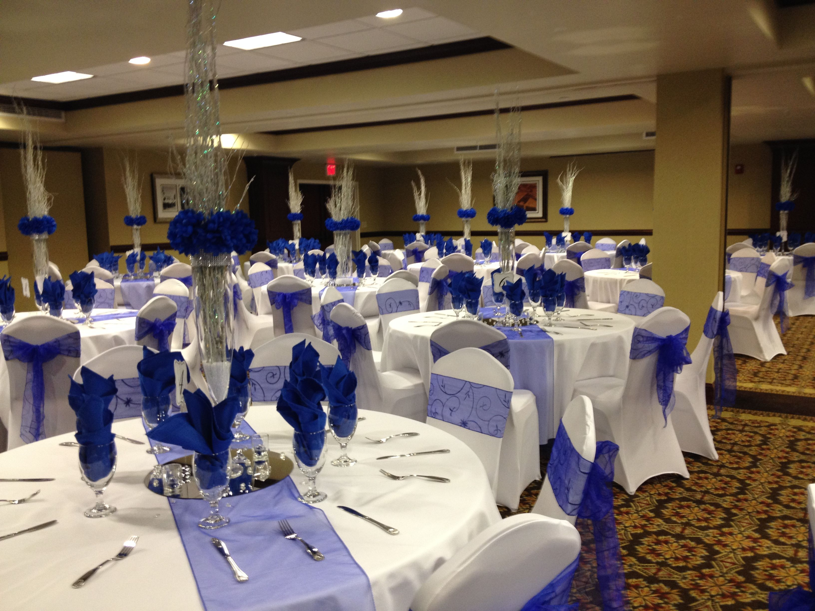 Winter wonderland Formal Party decorated and catered by