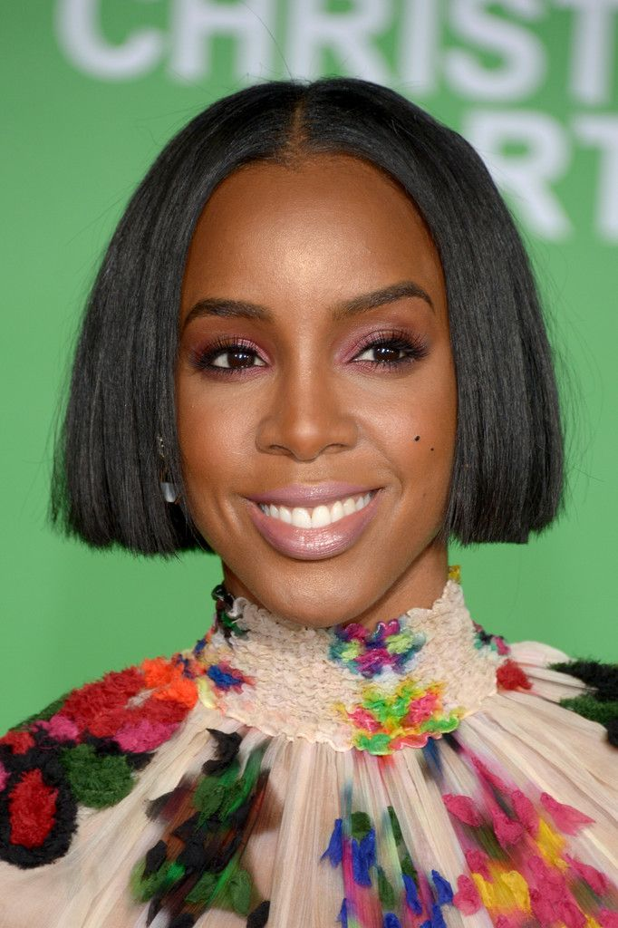 Image result for kelly rowland with a blunt hairstyle