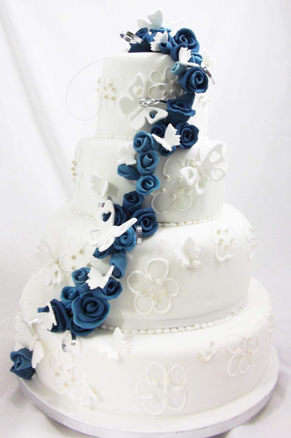 Erflies Wedding Cakes 18 2017 At 980 1473 In Blue Erfly Cakepurple