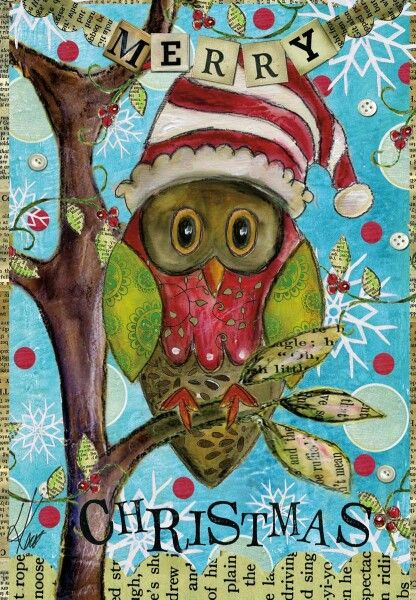 Pin by Christine Mansell on xmas Pinterest Whimsical, Xmas and Owl