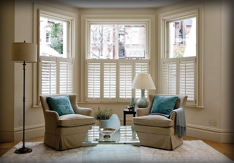 Plantation shutters in georgian style homes plantation - Interior vinyl shutters for windows ...