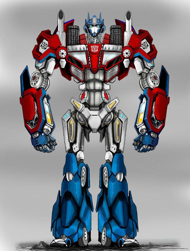 Optimus Prime by Partin-Arts