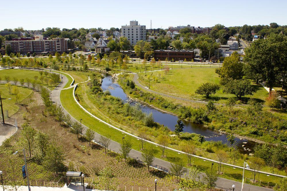 Image Result For Mill River Park Olin Stamford River Park Mills River River