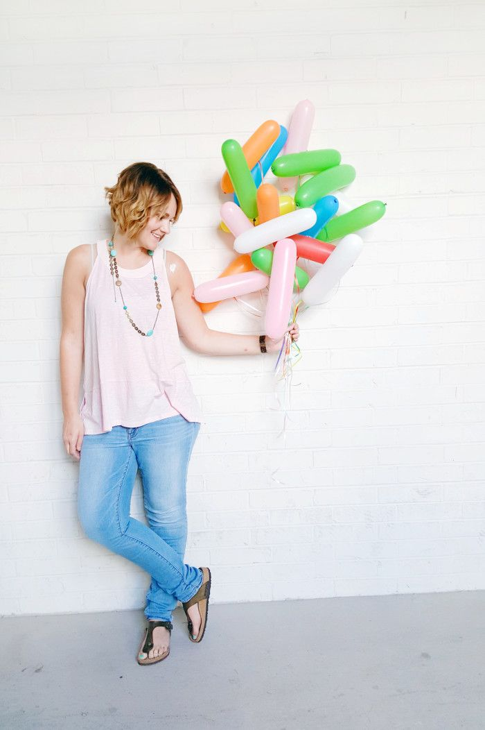 Sprinkle Balloons is the cutest bunch of balloons you'll ever see! | A Joyful Riot