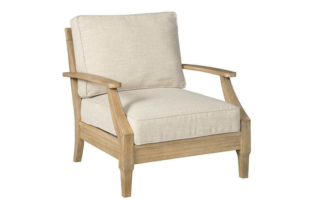 Clare View Lounge Chair with Cushion | Ashley Furniture ... on Clare View Beige Outdoor Living Room id=31427