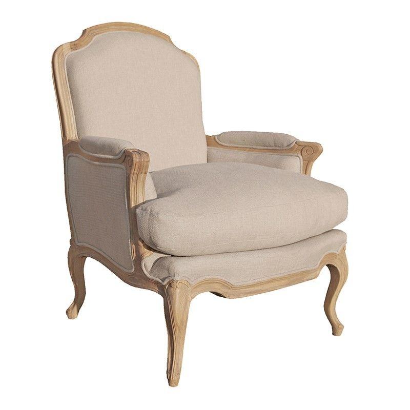 Villeneuve Oak French Style Sofa Chair French Style Sofa French Sofa French Style Chairs