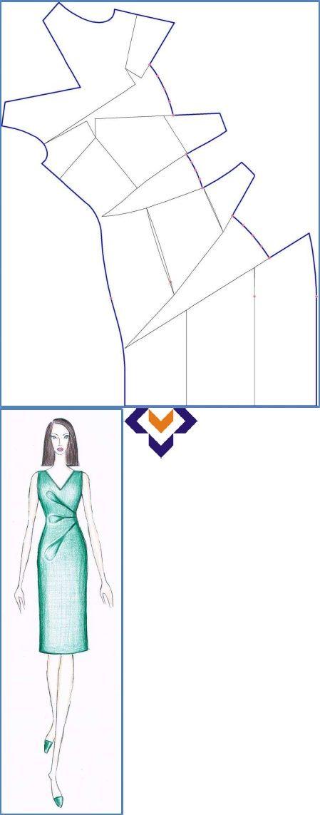 INVESTIGATION OF PATTERN MAKING OF TUCKS | moda | Pinterest ...