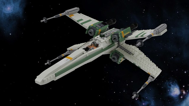 T 65 Engine Variant X Wing X Wing Star Wars Lego Army