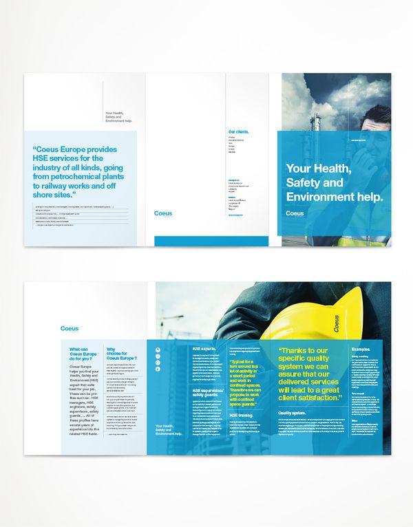 Coeus Europe - corporate folder by Matthias Berghmans, via Behance