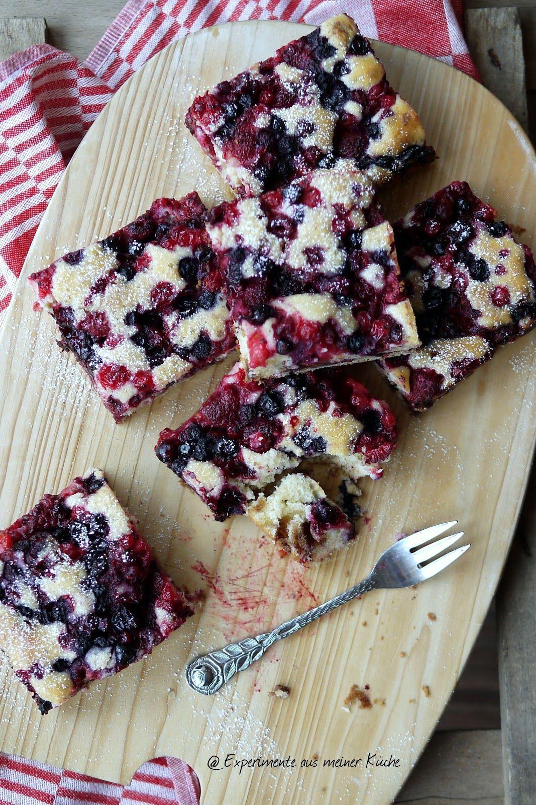 Schneller Beeren-Schoko-Kuchen - Experimente aus meiner Küche #dessertbars