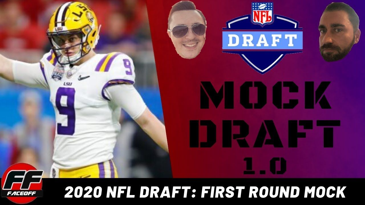 Nfl Mockdraft 2020 Full 1st Round 1 0 With Trades Youtube Nfldraft Fantasyfootball Podcast In 2020 Nfl News Nfl Draft Nfl