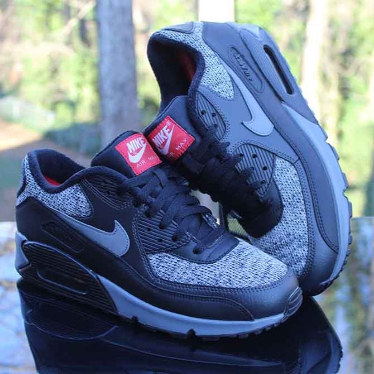Nike Air Max 90 Essential Black Thunder Sneakers Men's