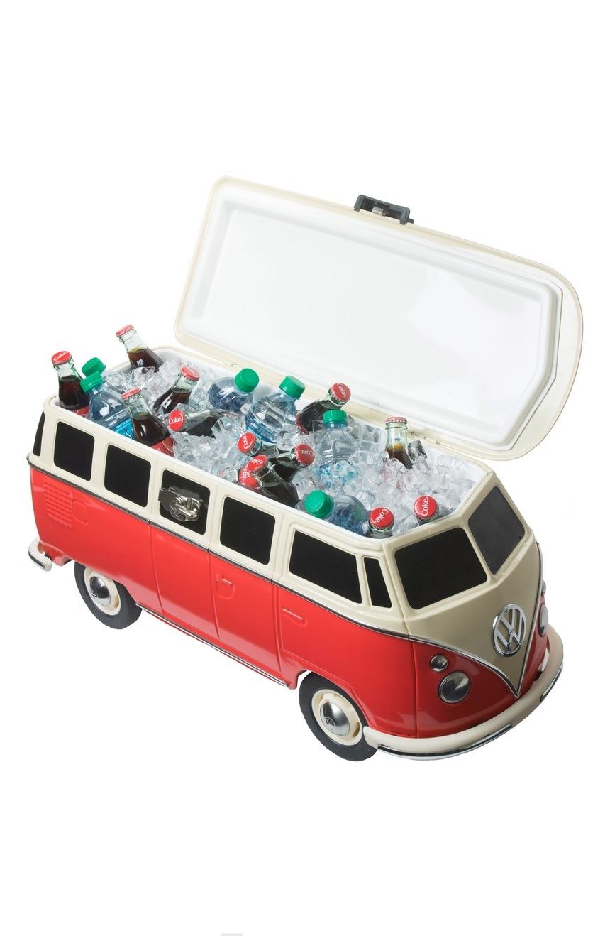The Monster Factory Vw Bus Cooler With Images Vw Bus Cool Box