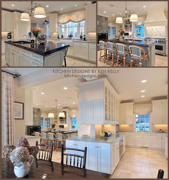 Kitchen Design By Ken Kelly Glamorous One Of The Best Kitchen Layouts  The Island Sink And Cooking Zone Design Ideas