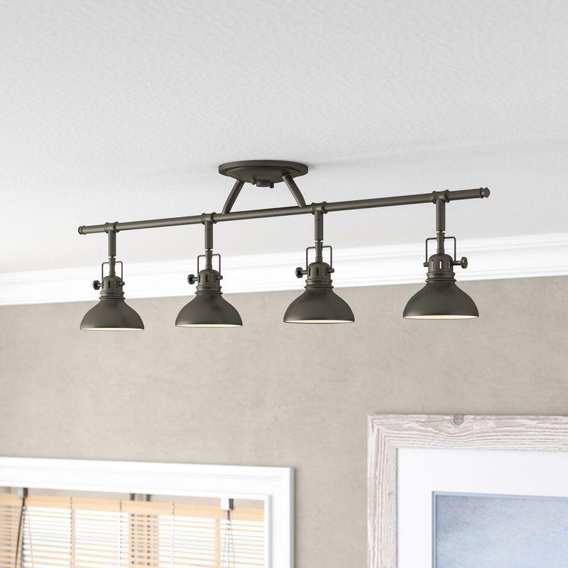 Replacing Track Lighting Dollinger 4light Fixed