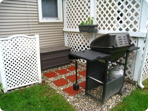 Get Grillin Diy Patio Patio Backyard House