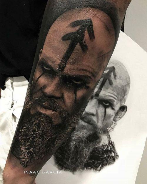 Floki Tattoos: Repost From @isaacgarciatattoo
