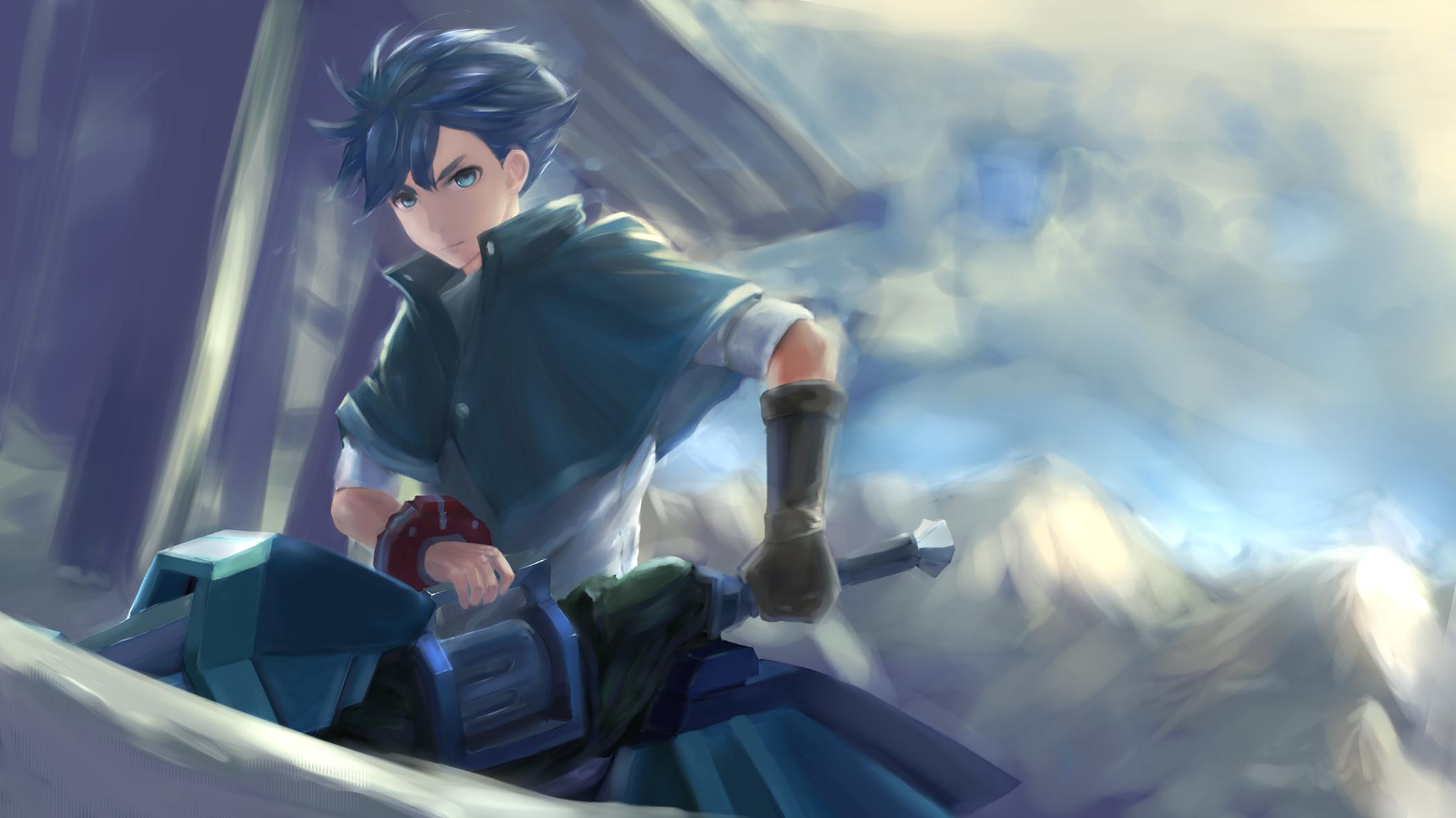 Anime God Eater Utsugi Lenka Wallpaper Anime Boy Amagi