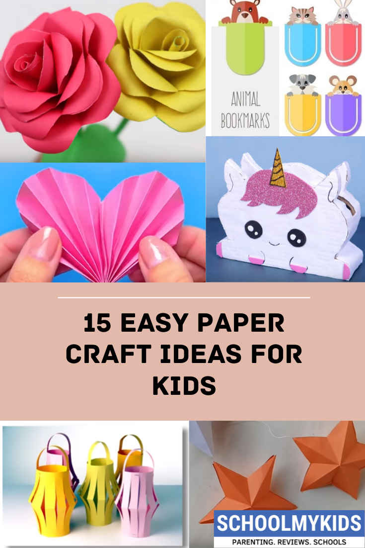 10+ Best DIY Ideas with Paper. Check out some more on Schoolmykids.com #easypapercraft #papercrafts #kids #papercraftideasforkids #papercraftideas #diy #craftsforkids #diypenstand #decorationpurpose #easyideas
