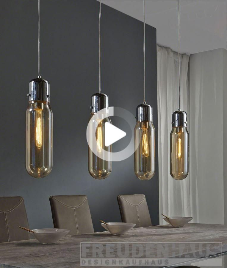 Lampe Suspendue Ampoule A Incandescence 4 Cylindres Edison Toned Eclairage Lampes Suspension In 2020 Lamp Lighting Design Interior Suspension Lamp