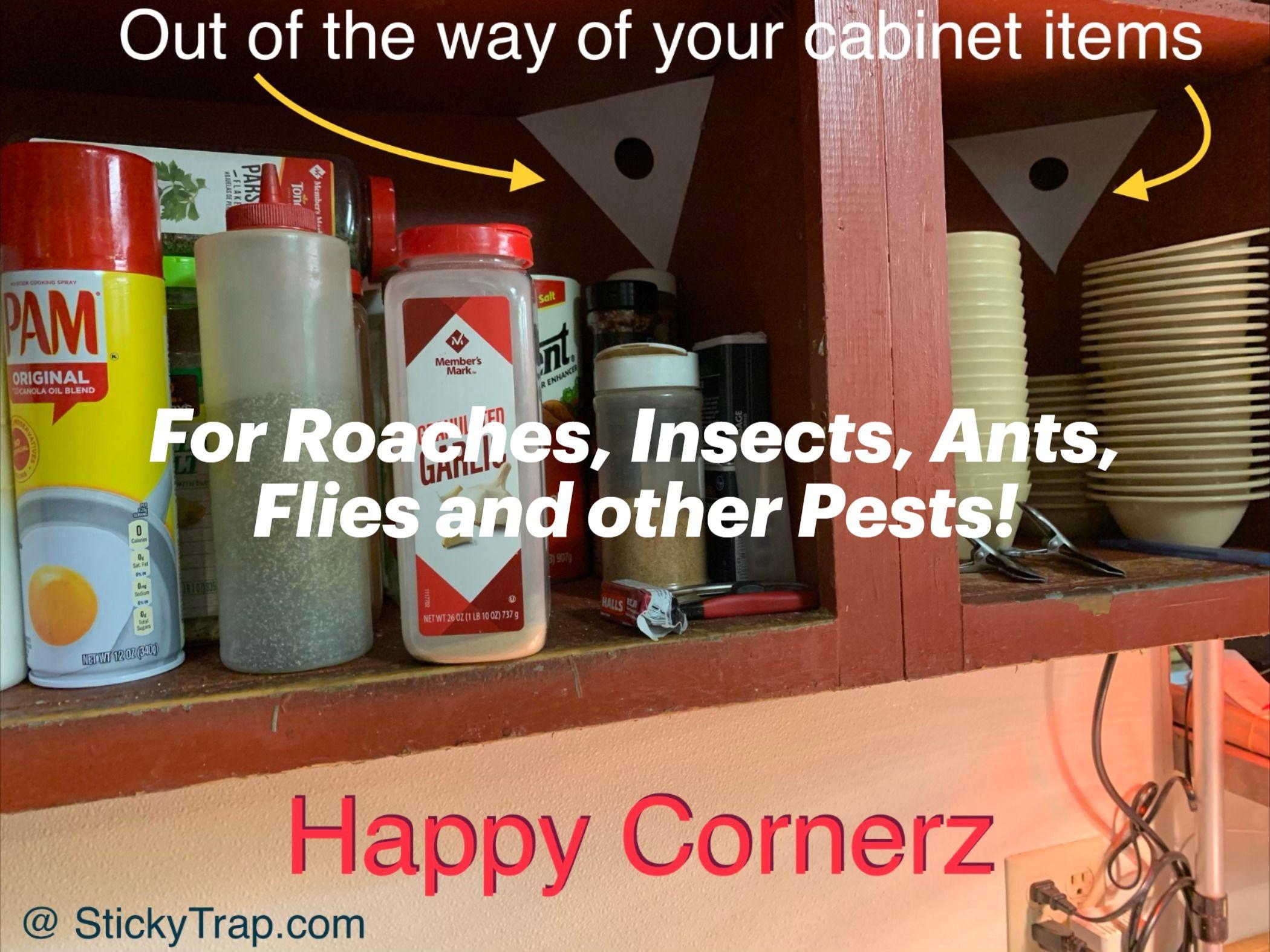 Happy Cornerz® 5 in 1 Sticky Traps in 2020 Diy pest