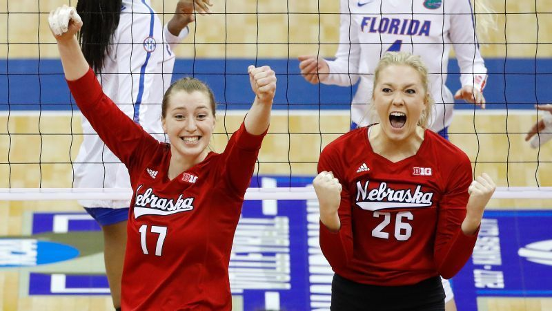 From Low To High For Kelly Hunter And Nebraska Volleyball Inspiration Nebraska Volleyball National Championship