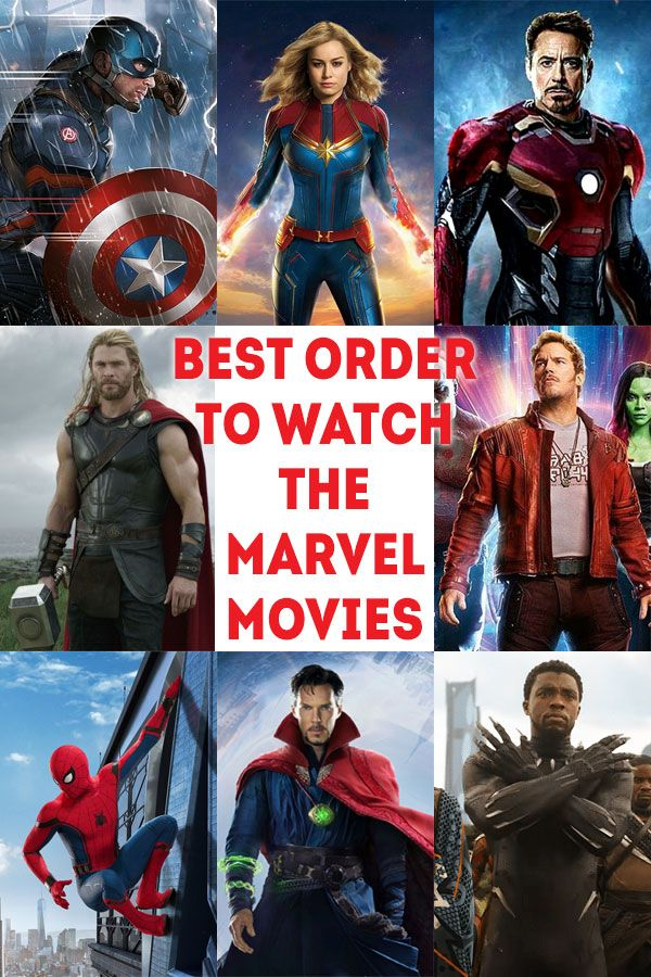Best Order to Watch the Marvel Movies Through 2019 | The TV Traveler