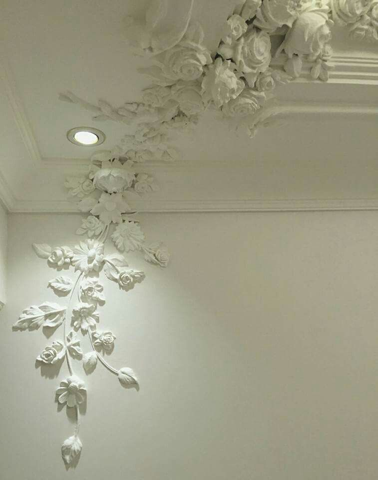 Pin By Nur Al On Decor Ceiling Design Modern Plaster Wall Art Ceiling Design