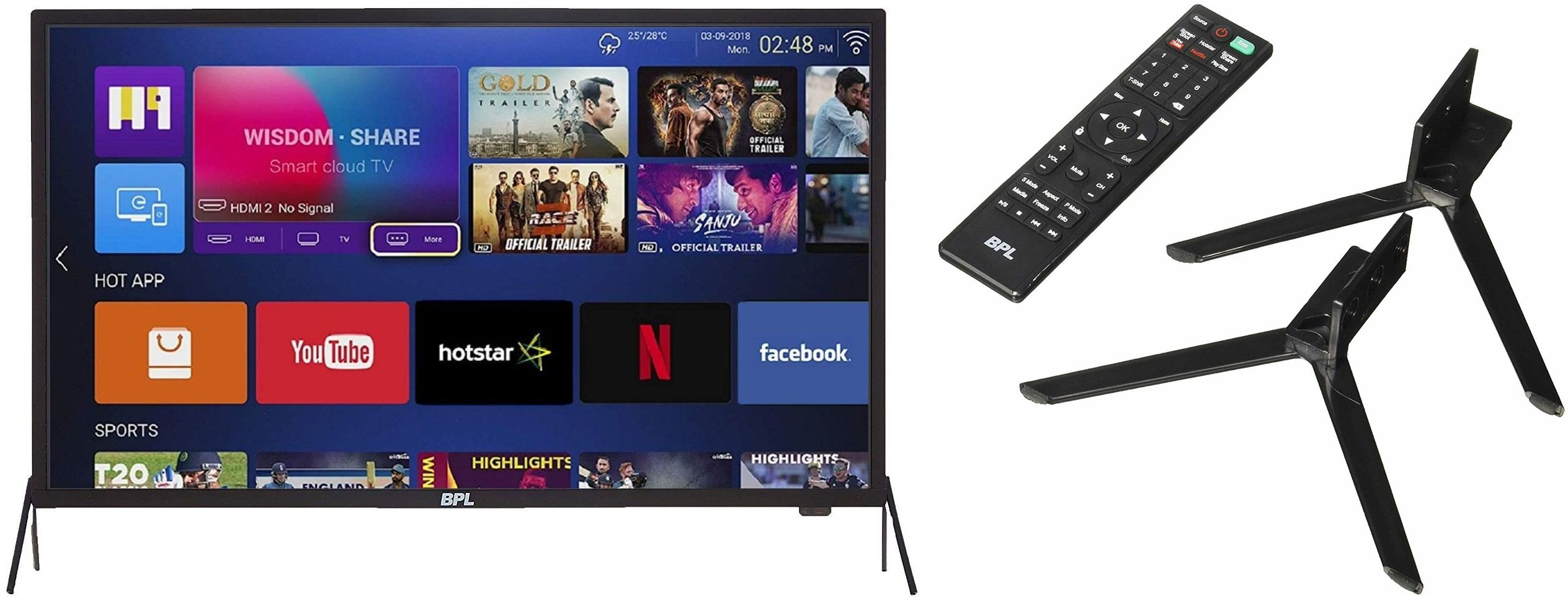 3 Best Big Screen LED TV under 18000 Rupees in India