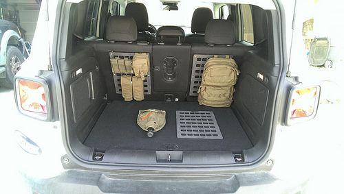 Pelican Strategic Rigid Molle Panels For Trunk Jeep