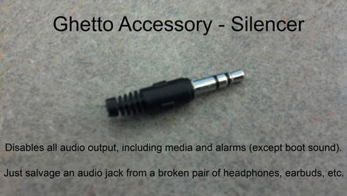 Silencer (wenn man die Übersicht der verschiedenen Sound-Volumes verloren hat)
