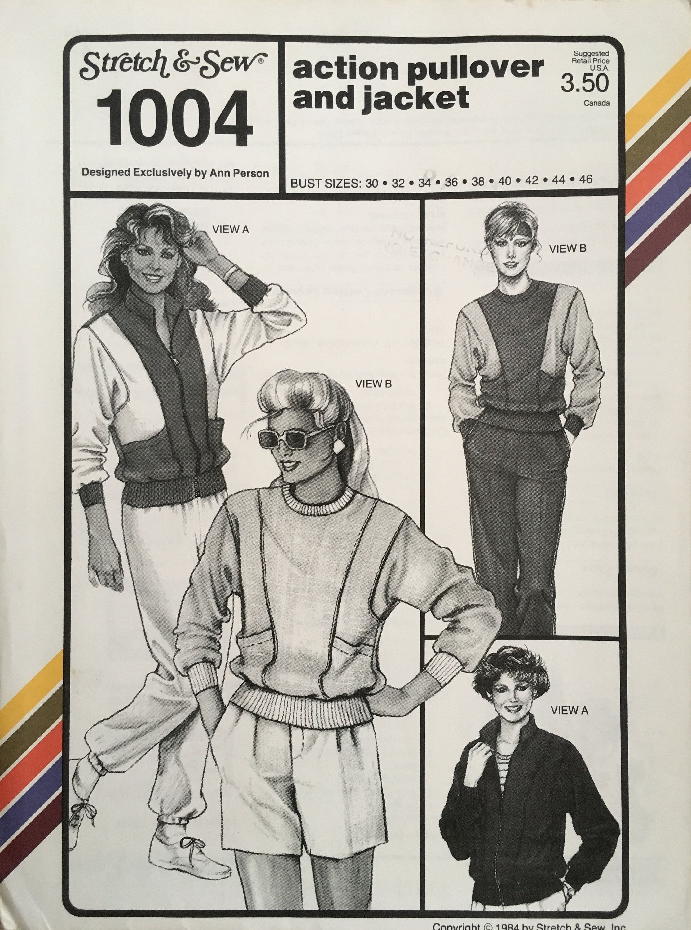 Stretch & Sew 1004 Sewing Pattern (Vintage) UNCUT by ANAPACLOTHING on Etsy