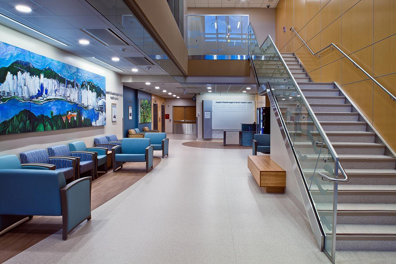 The new Joseph & Rosalie Segal & Family Health Centre - # ...