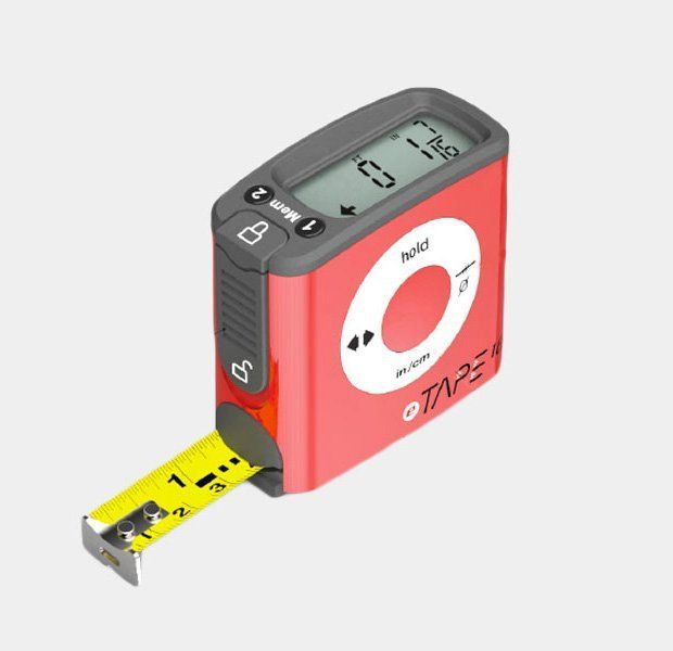 Digital Measuring Tape By Etape16 Petagadget Tape Measure Gadgets Cool Technology